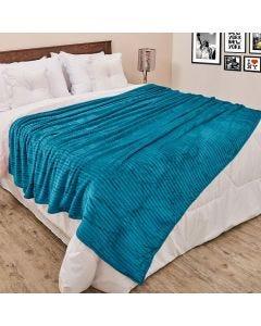Cobertor Queen 2,20x2,40m Canelado - Pinho