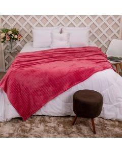 Cobertor Queen 2,20x2,40m Canelado - Batom