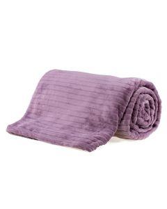 Cobertor Queen 2,20X2,40M Canelado - Lilac Acai