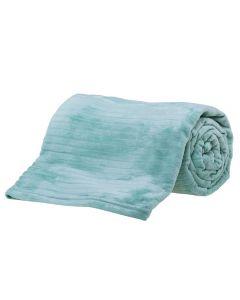 Cobertor Queen 2,20X2,40M Canelado - Verde Menta