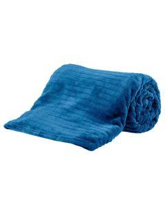 Cobertor Queen 2,20X2,40M Canelado - Indigo Blue