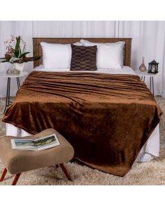 Cobertor Queen 220x240 Patricia Foster - Castor