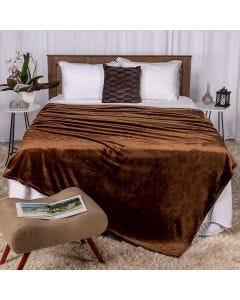 Cobertor Queen 220x240 Raschel Patricia Foster - Castor