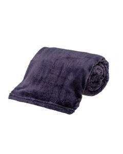 Cobertor Queen Microfibra Yaris - Cinza