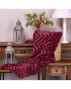 Cobertor Queen Patricia Foster - Borgonha