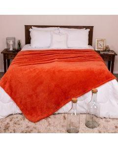 Cobertor Solteiro 1,60x2,20m Dobby - Telha