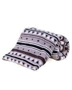 Cobertor Solteiro Microfibra Estampado Yaris - Albert Geo Chumbo