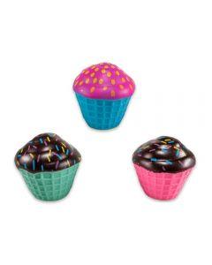 Conjunto com 3 Bichos de Banho Havan - HBR0071 - Cupcakes