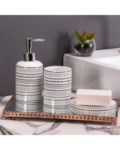 Conjunto de Banheiro 3 Peças Yaris - Ceramica