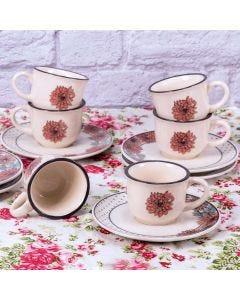 Conjunto de Xícaras para Café Daily Oxford - Giulia