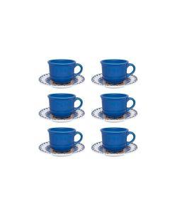 Conjunto de Chá 12 Peças La Carreta - Oxford Daily - DIVERSOS