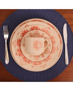 Conjunto De Jantar Renda 20 Peças Biona - Donna Rendas