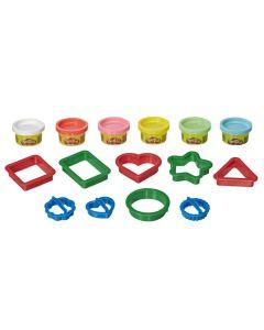 Conjunto de Massinha Play-Doh Formas Hasbro - E8534 - Colorido