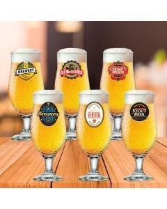 Conjunto de Taças Royal 6 Peças Happy Hour Ruvolo - Vidro