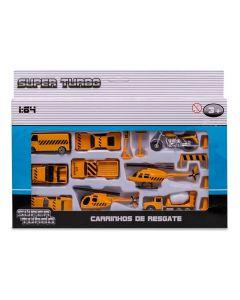Conjunto de Veículos de Resgate Havan - HBR0082 - Amarelo