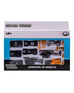 Conjunto de Veículos de Resgate Havan - HBR0082 - Polícia