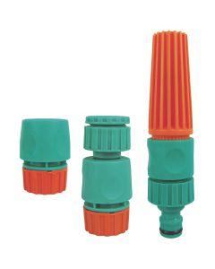 Conjunto para Irrigação com 3 peças Tramontina - Verde