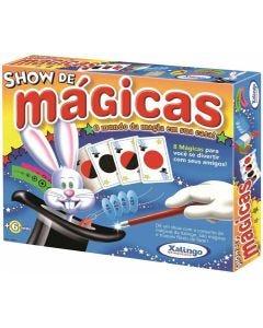 Conjunto Show de Mágicas com 8 Mágicas Xalingo - AZUL