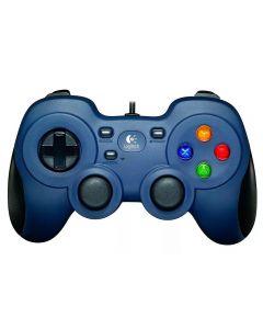 Controle com Fio para Jogos F310 Logitech - Azul