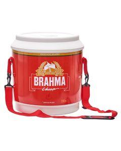 Cooler 20 Litros Brahma Brasil Ambev - Vermelho