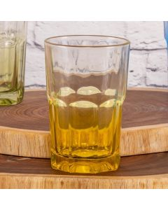 Copo Boston Degrade 377ml Libbey - Amarelo
