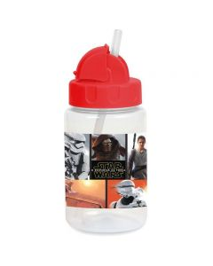 Copo com Canudo Retrátil 340ml Personagens Baby Go - STAR WARS