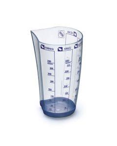 Copo Medidor 500ml com 5 Tipos de Medidas Arthi - Plastico