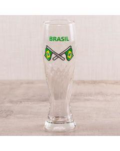 Copo para Cerveja Brasil 410ml Globimport - Vidro