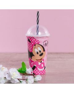 Copo Shake Minnie 500ml Plasútil - Rosa