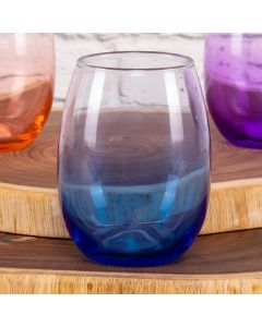 Copo Stempless Degrade 430Ml Libbey - Azul