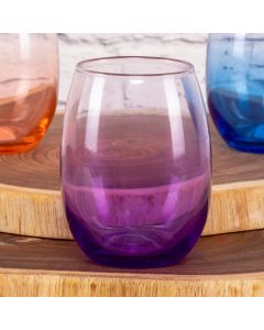 Copo Stempless Degrade 430Ml Libbey - Roxo