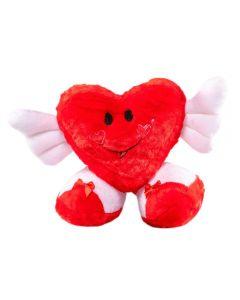 Coração Cupido Brinquedos Carinho - 225 - Vermelho