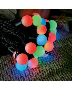Cordão Luminoso 50 Leds Globo Leitoso 220V Taschibra - Colorido