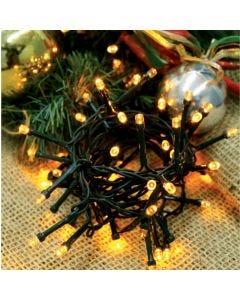 Cordão Luminosos 96 Leds 8 Funções 127v Taschibra - Amarelo