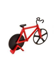 Cortador de Pizza Bicicleta 19cm Finecasa - Vermelho