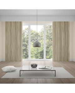 Cortina Black Out 2,80x2,30m Estampado - Natural