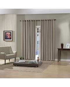 Cortina Blackout Pratika 2,00X1,60M Lisa Slim - Taupe