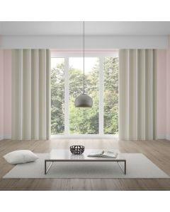 Cortina Corta Luz 2,60x2,30m Tecido Brilho Liso - Marfim