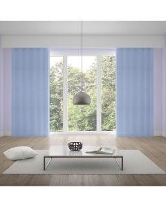 Cortina Corta Luz em PVC 2,60x1,70m com Ilhos - Azul Claro