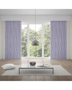 Cortina Corta Luz Tecido 3,00x1,70m Mescla Rústico - Cinza