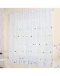 Cortina Cozinha Glamour 200X120 Havan  - Branco
