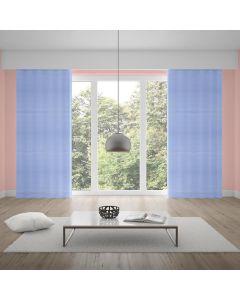 Cortina Duplex 2,60x1,70m Lisa Quarto e Sala - Azul