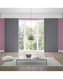 Cortina Duplex 2,60x1,70m Lisa Quarto e Sala - Titanio