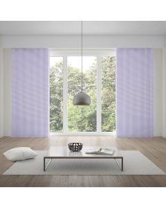 Cortina Duplex 3,00x2,30m para Quarto e Sala - Branco