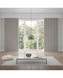 Cortina Duplex 5,40x2,50m Chiffon Quarto e Sala - Taupe