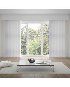 Cortina Duplex Chiffon 4,20x2,50m Bella Janela - Branco