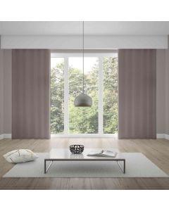 Cortina Duplex Lisa 4,20x2,70m Quarto e Sala - Taupe