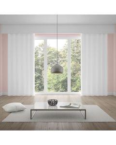 Cortina Duplex Monaco 4,20x2,30m Quarto e Sala - Branco