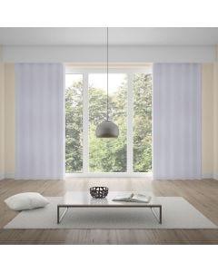 Cortina Duplex Mônaco 4,20x2,50m para Quarto e Sala - Branco