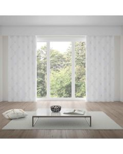 Cortina Duplex Renaissance 4,20x2,30m Bella Janela - Branco